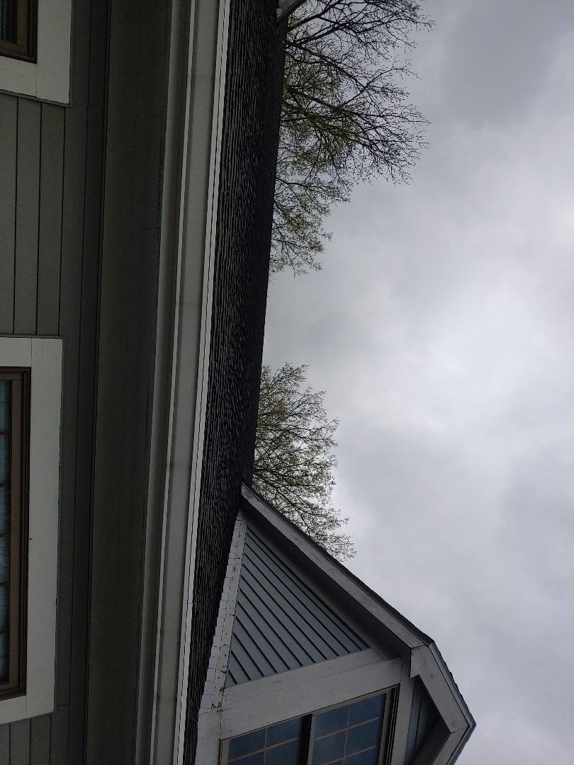 Vandalia, OH - Inspecting a commercial roof and estimating for repair or replacement with shingle rubber TPO PVC or metal roofing in Vandalia, Ohio.