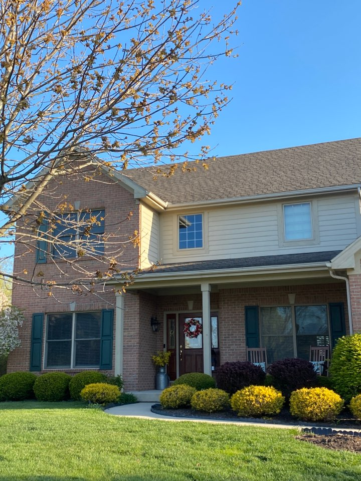 Troy, OH - Shingle roof repair in Troy, Ohio.