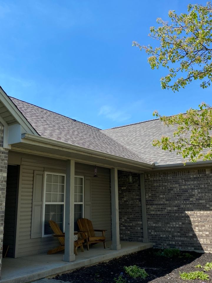 Tipp City, OH - Full roof replacement using CertainTeed Landmark shingles in Tipp City, Ohio.