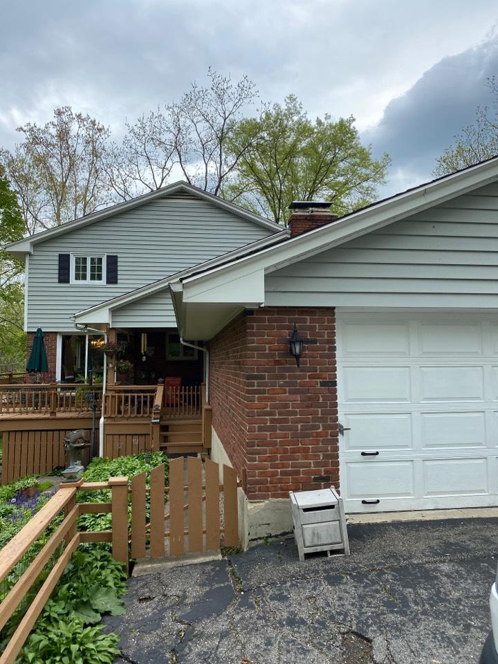 Dayton, OH - Velux skylight replacement in Washington Township, Ohio.