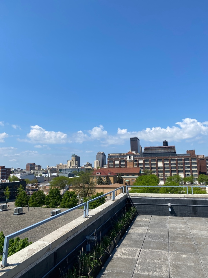 Dayton, OH - Commercial flat roof repairs in Dayton, Ohio.