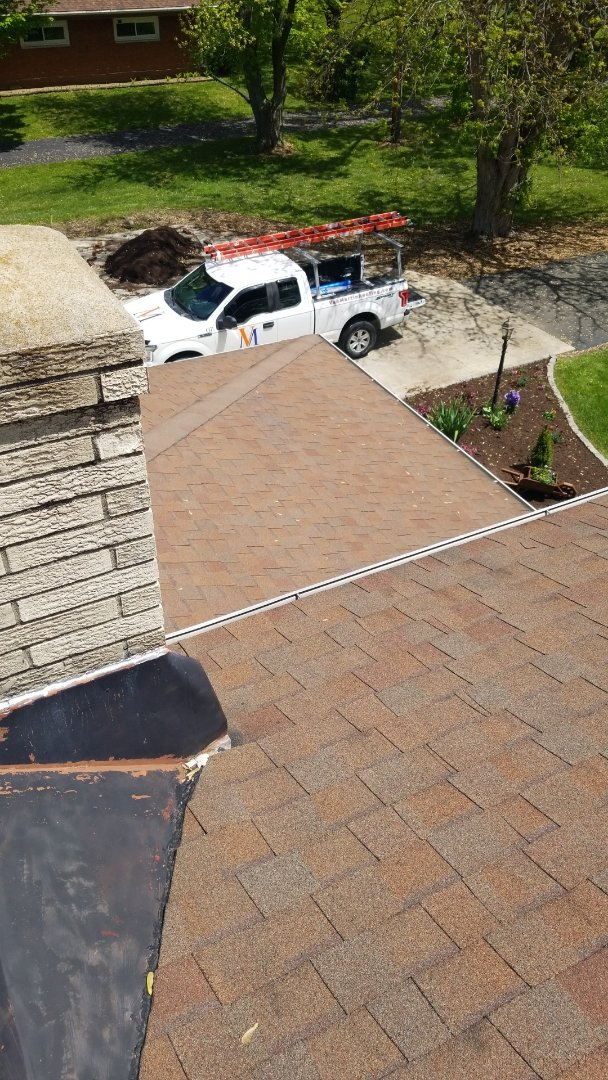 Englewood, OH - CertainTeed Landmark shingle roof replacement in Union, Ohio.