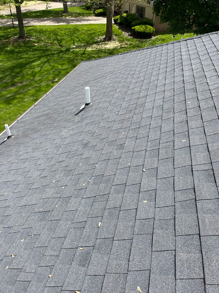 Centerville, OH - Roof inspection for a shingle roof repair in Centerville, Ohio.