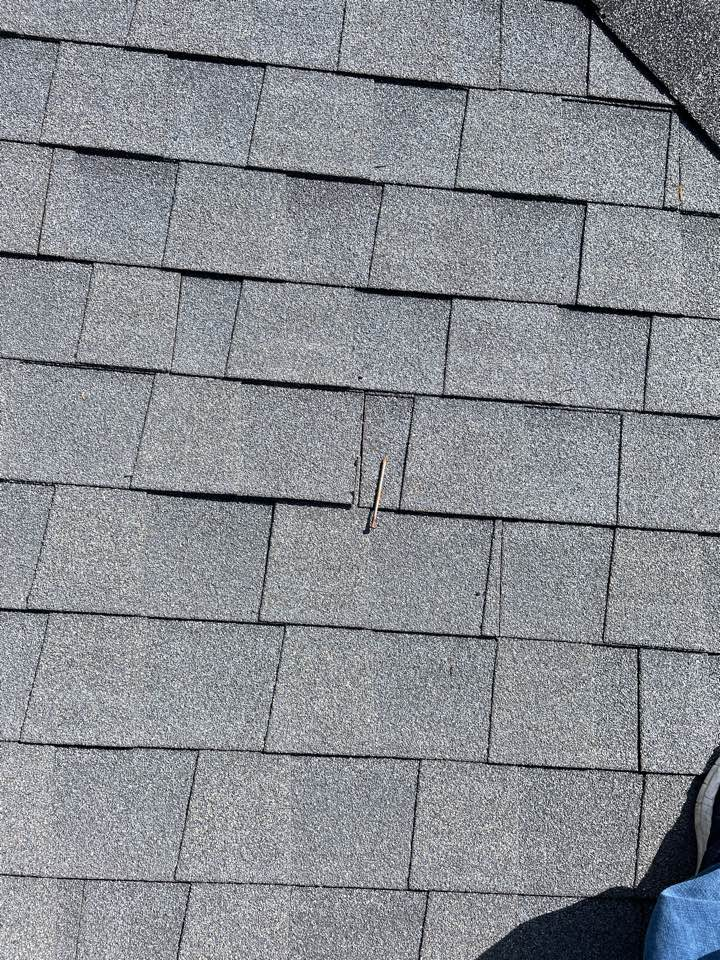Centerville, OH - Shingle roof inspection in Washington Township, Ohio.