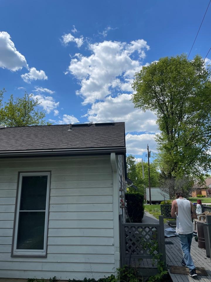Middletown, OH - Velux skylight installation in Middletown, Ohio.