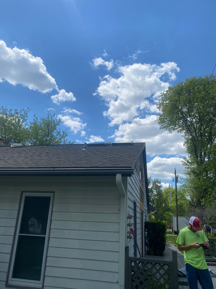 Middletown, OH - Built curb mount and installed Velux skylights in Middletown, Ohio.
