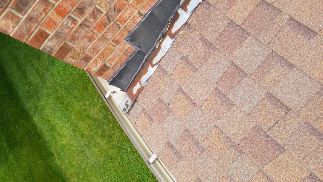 Bellbrook, OH - Shingle roof repairs in Bellbrook, Ohio.