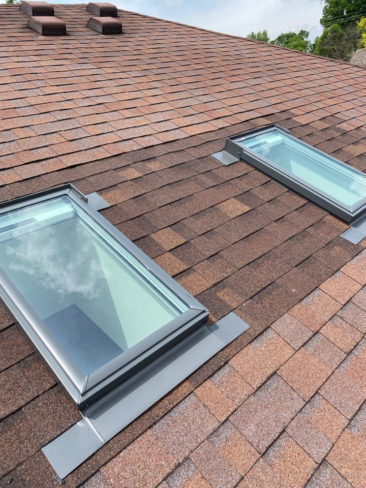 Miamisburg, OH - Velux skylight installation in Miamisburg, Ohio.