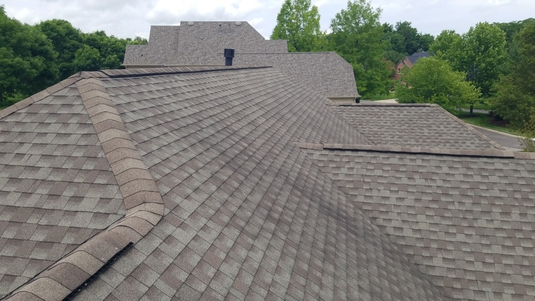 Centerville, OH - CertainTeed Landmark shingle roof replacement in Centerville, Ohio.