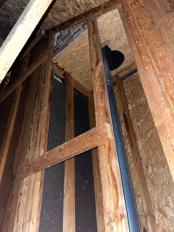 Yellow Springs, OH - Roof and chimney leak repairs in Yellow Springs, Ohio.