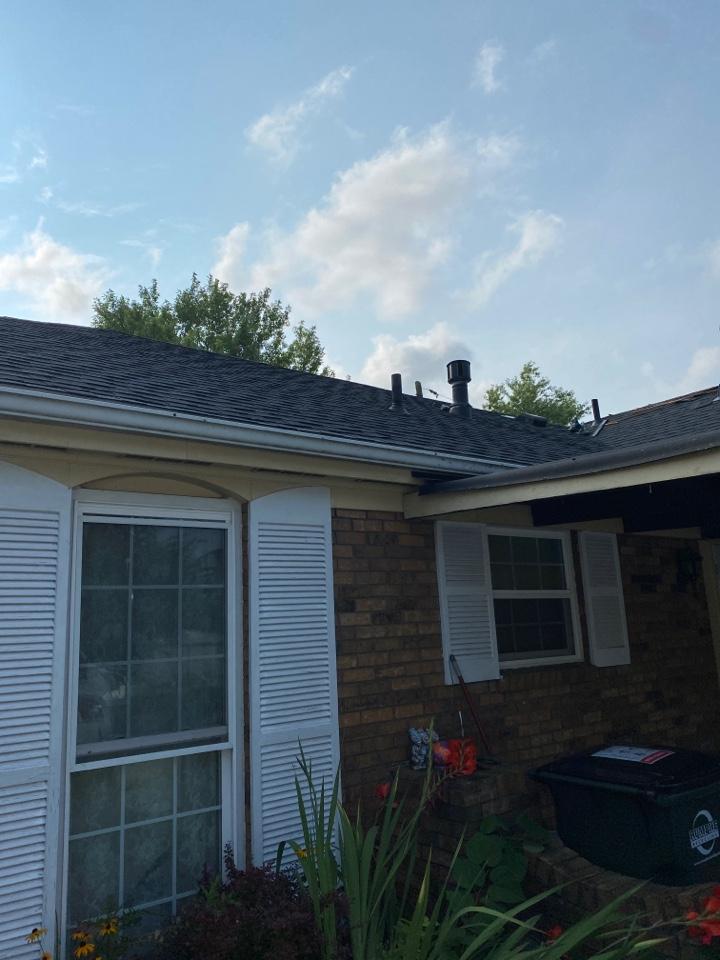 Fairborn, OH - Ridge vent and MOD vent repair in Fairborn, Ohio.