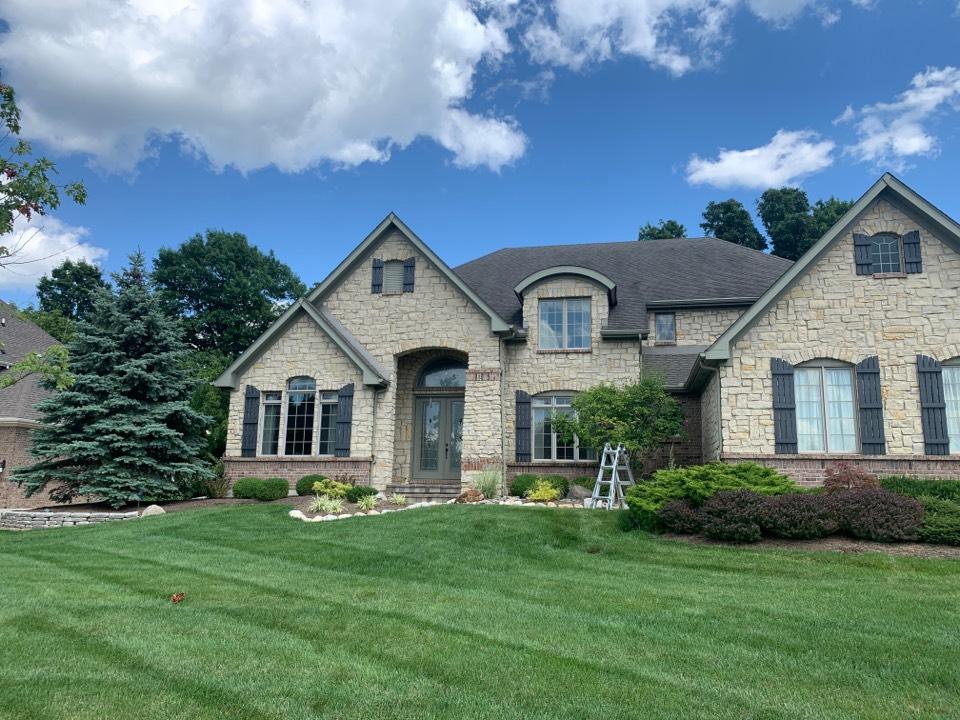 Dayton, OH - Roof repair estimate in Washington Township, Ohio.