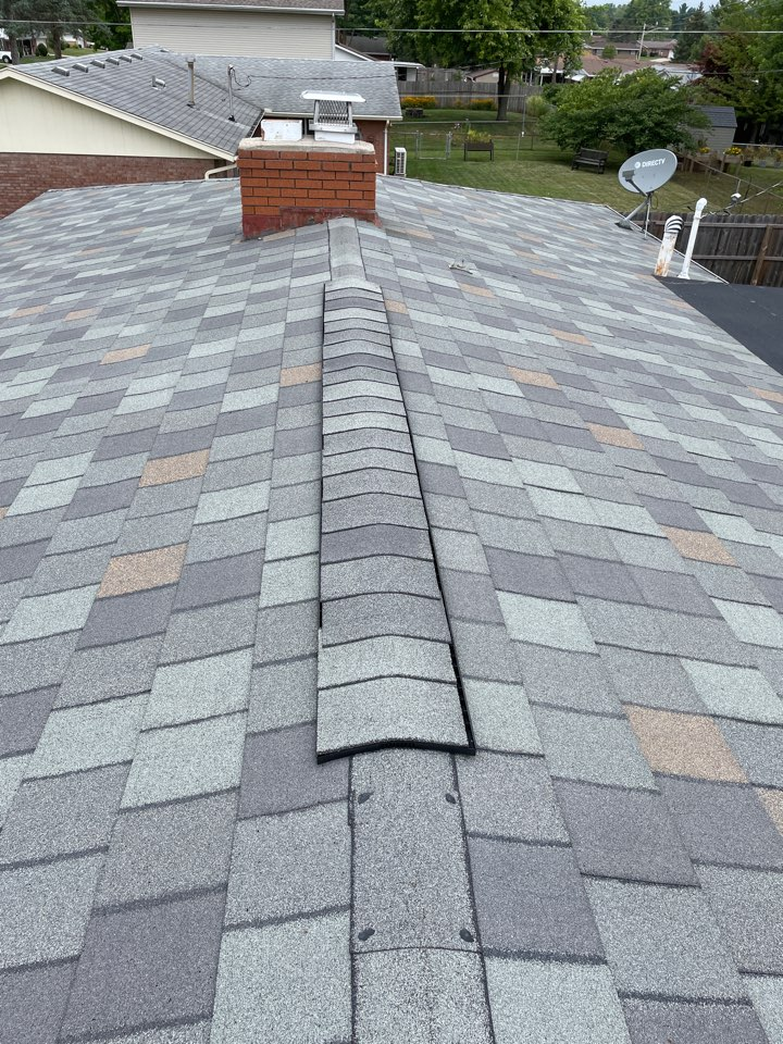 Xenia, OH - Roof replacement quote using CertainTeed shingles in Xenia, Ohio.