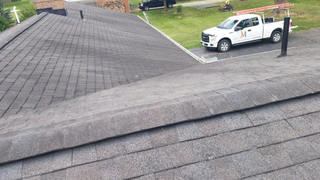 Xenia, OH - Certainteed Landmark roof replacement in Xenia, Ohio