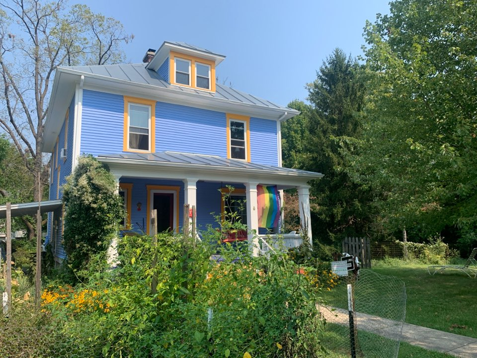 Yellow Springs, OH - Gutter replacement estimate in Yellow Springs, Ohio.