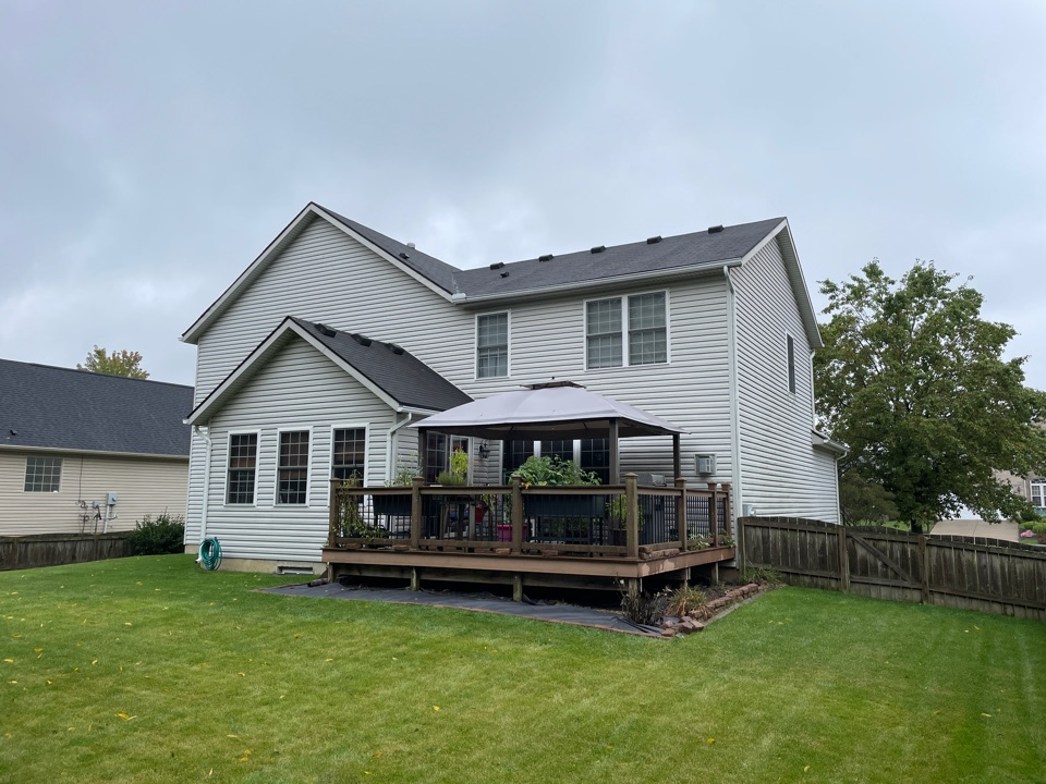 Beavercreek, OH - Estimation for a roof replacement in Beavercreek, Ohio using CertainTeed shingles.
