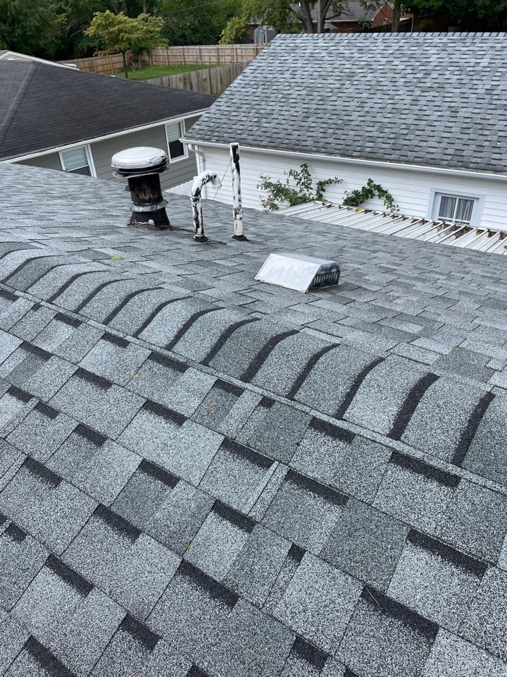 Middletown, OH - Roof repairs in Middletown, Ohio.