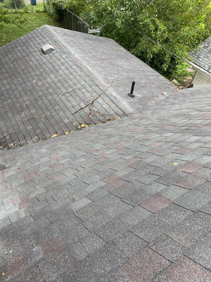 Dayton, OH - Roof leak inspection in Dayton, Ohio.