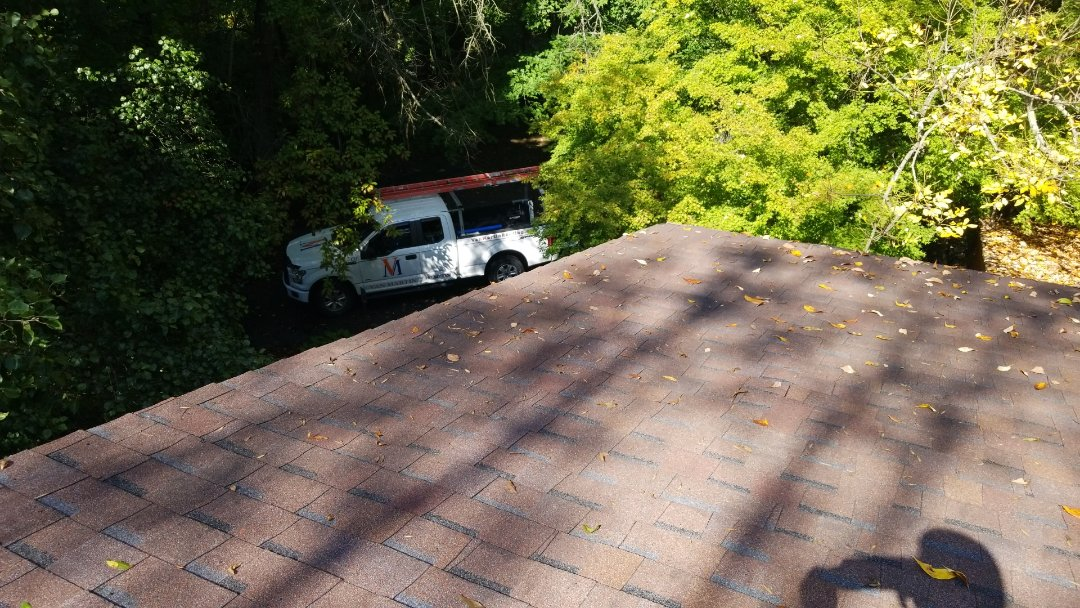 Certainteed Landmark roof replacement in Dayton, Ohio