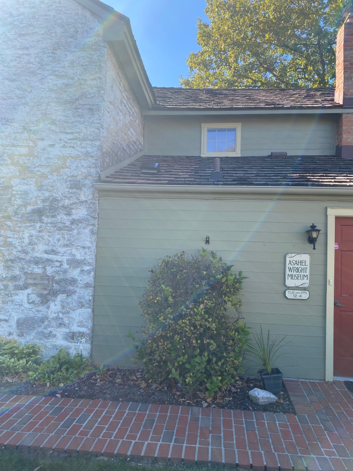 Centerville, OH - Wood shingle repair in Centerville, Ohio.
