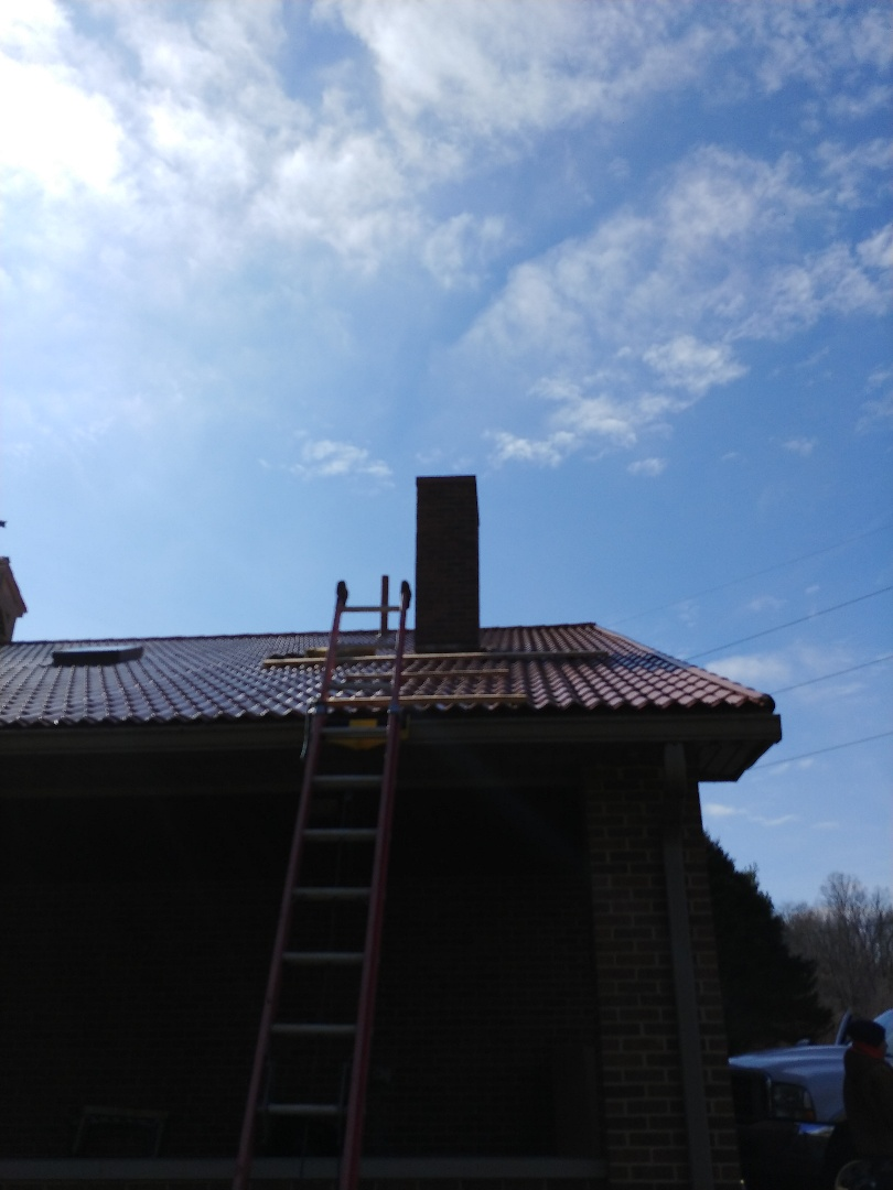 Bellbrook, OH - Replace chimney & cupola flashing in Bellbrook