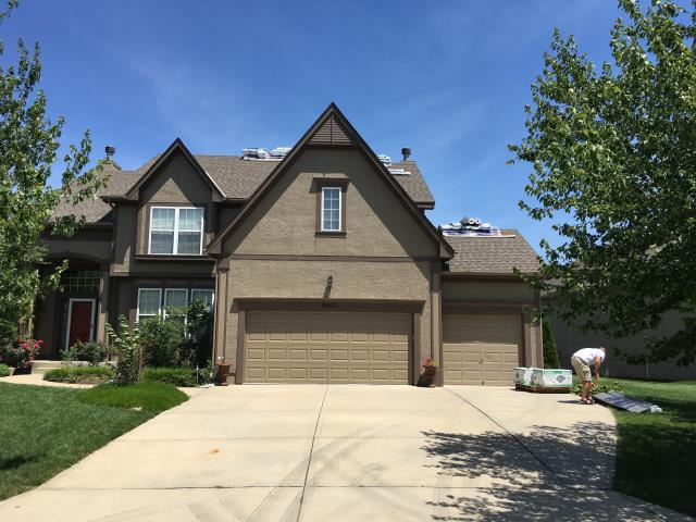 Lenexa, KS - Roof replacement Timberline HD System Plus