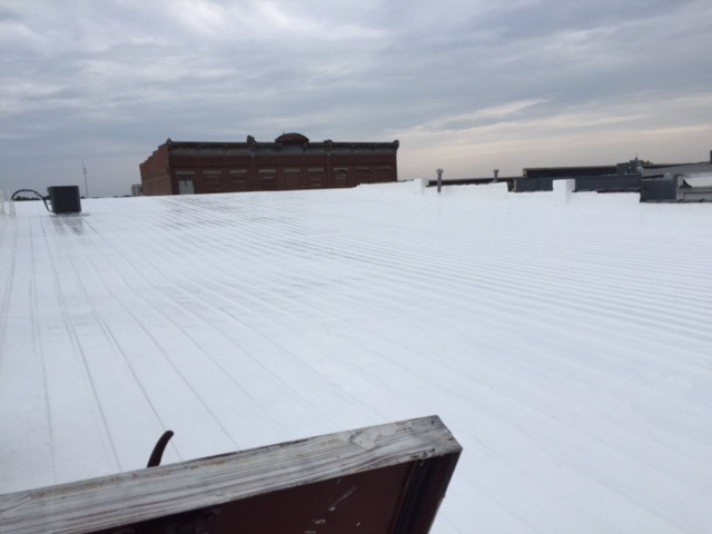 Marshall, MO - Roof Coating....Why replace when you can coat it. Warranties are the same as a new roof with half the cost.