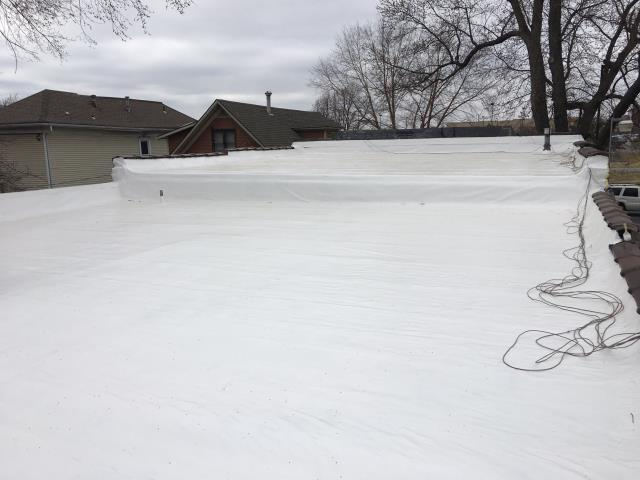 Kansas City, MO - Silicone Roof Coating by Safe Harbor Roofing