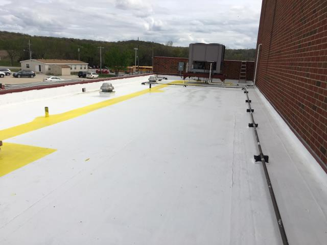 Mound City, KS - Silicone Roof Coating by Safe Harbor Roofing