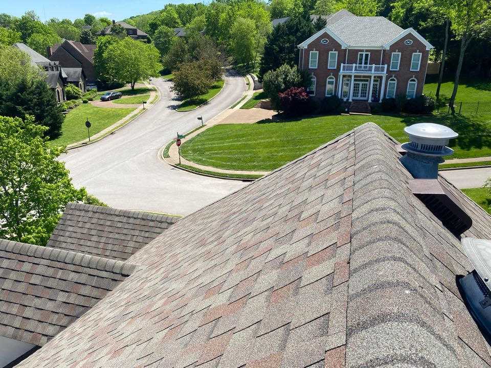 Brentwood roof inspection