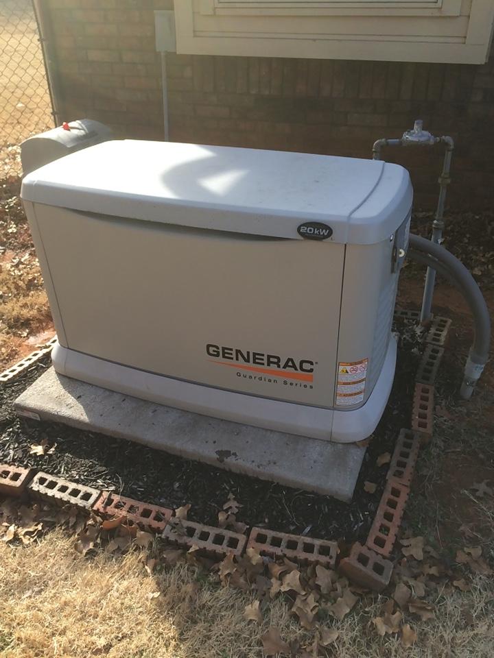 Forest Park, OK - 20 KW Generac generator annual service