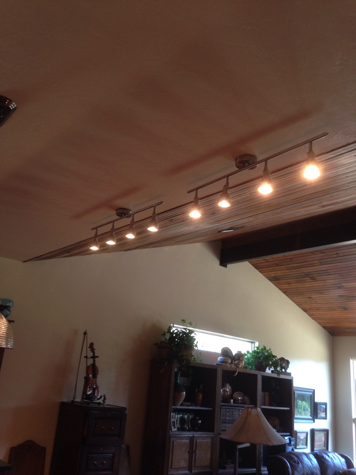 Guthrie, OK - Install track lights and rewire switches