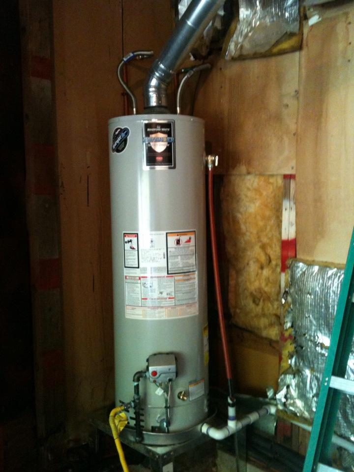 Bethany, OK - Hot water tank