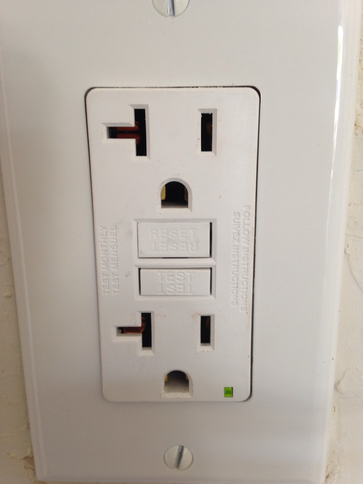 Noble, OK - Install gfci receptacle and panel load center inspection