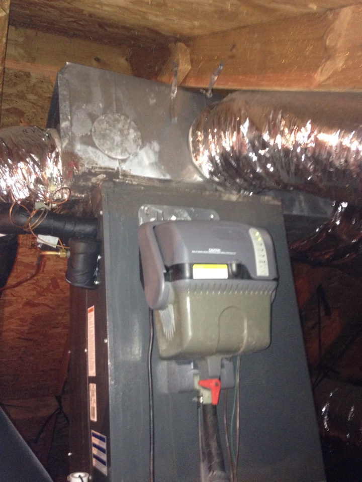 Forest Park, OK - Furnace inspection and steam humidifier maintenance