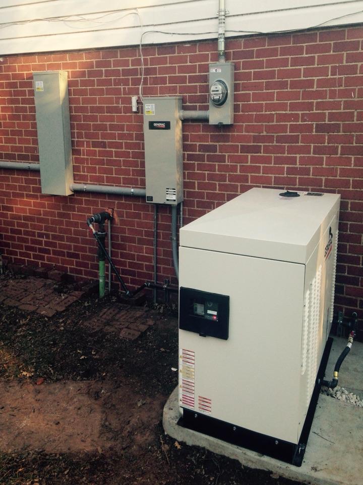 Nichols Hills, OK - Generator install
