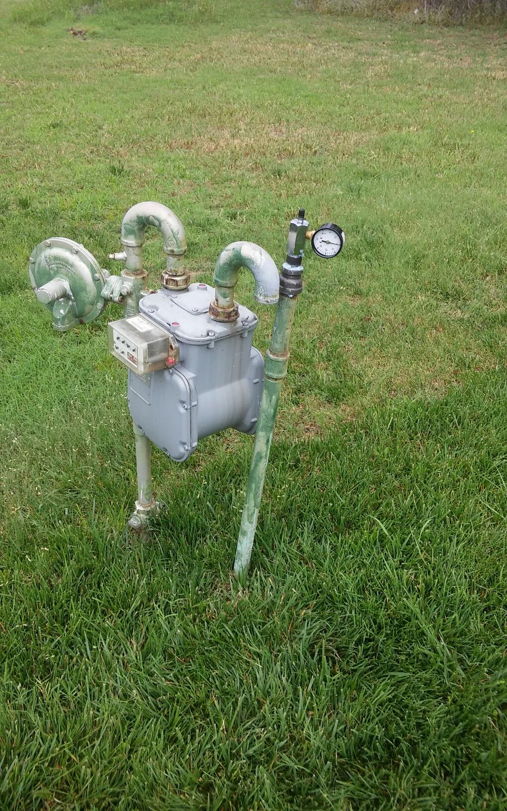 Piedmont, OK - Gas pressure test
