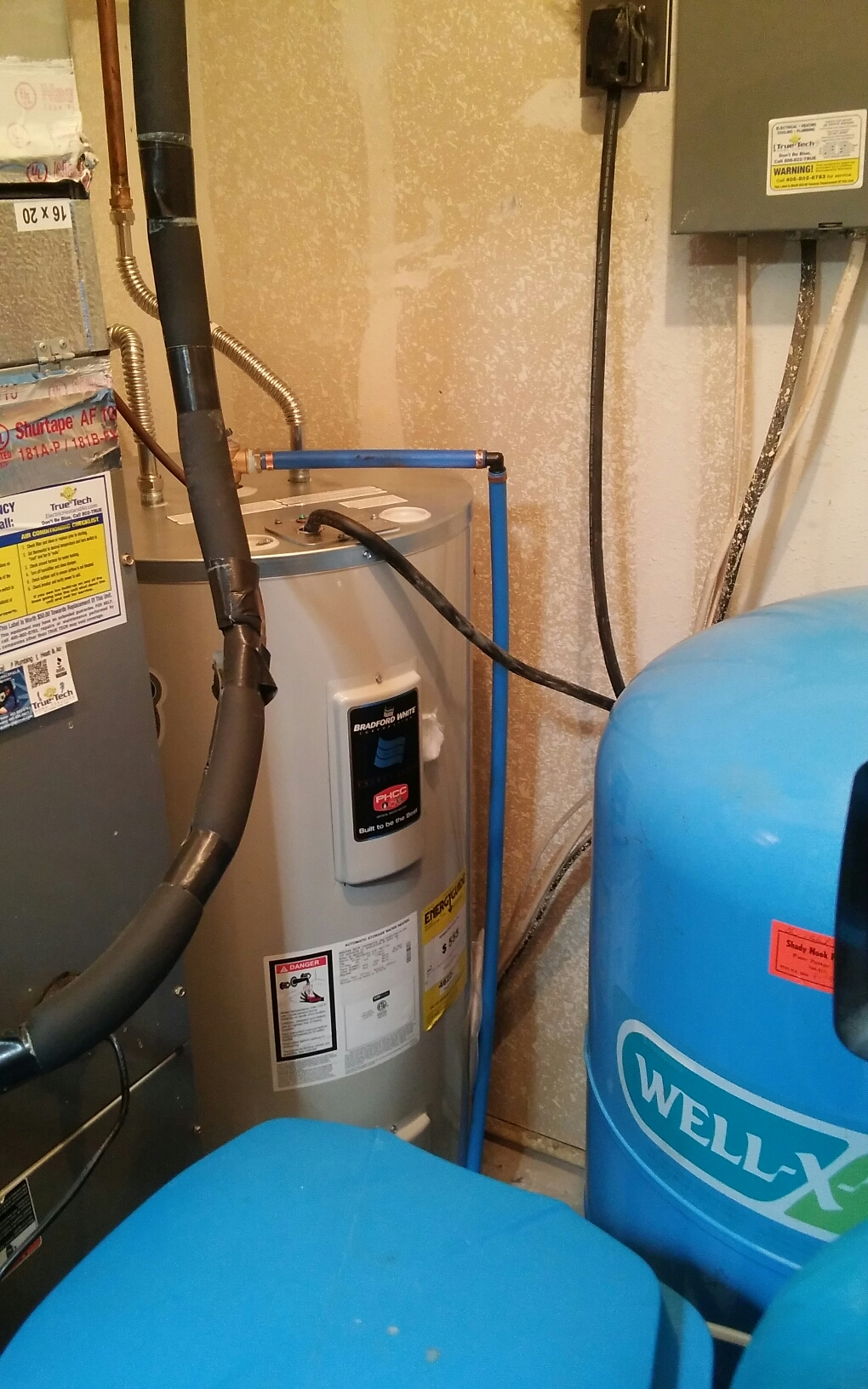 Del City, OK - Installed 50 gallon electric water heater