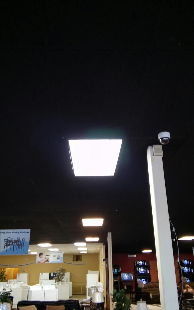 Shawnee, OK - Installed 3 new ballast and put in new light bulbs