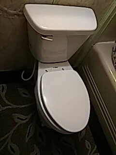 Spencer, OK - Installed new ada toilet