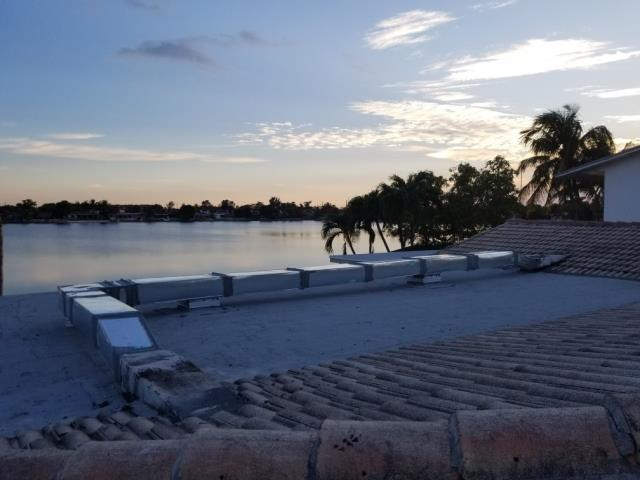 Hialeah, FL - Replace Metal Galvanized Air ductwork on Roof  to stop water leaks and improve air flow.