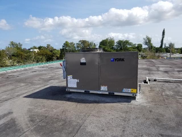 Hollywood, FL - 12 ton York Package A/C unit installation