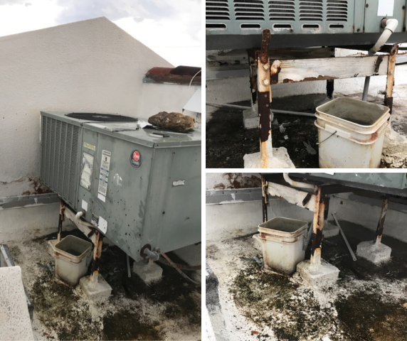 Pompano Beach, FL - Our installer went to map out the best plan to upgrade this residential customer's system in Pompano Beach. This 12 year old system is leaking water and its support racks are rusted out. Instead of suggesting lengthy and costly repairs, we help this customer find the perfect, new and efficient system to fit her needs.