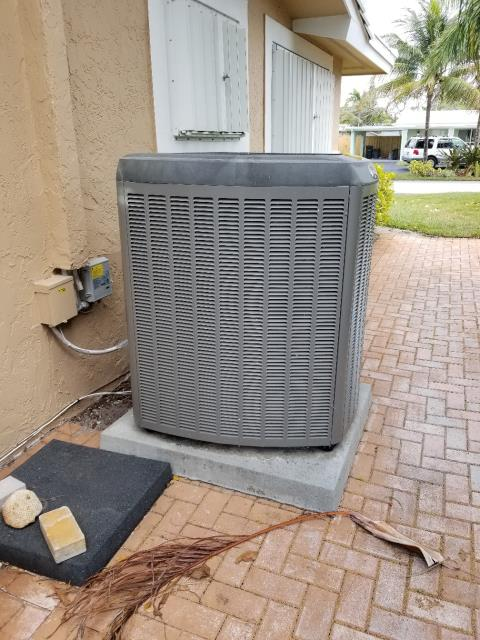 During this scheduled maintenance, we performed a full precision tune up on both her systems. After a full system inspection and service, we recommend one of her systems be replaced along with a duct cleaning to ensure her indoor air quality is maintained. Our Comfort Consultant went out to the residence to provide several quotes for a new system.