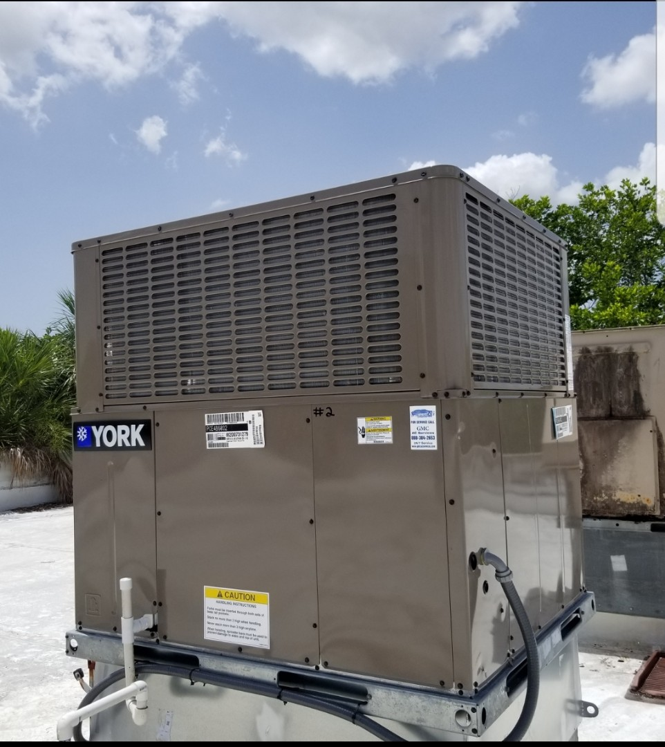 Commercial client needed 2 rooftop units replaced quickly. GMC completed job to give them comfort for their business and customers .