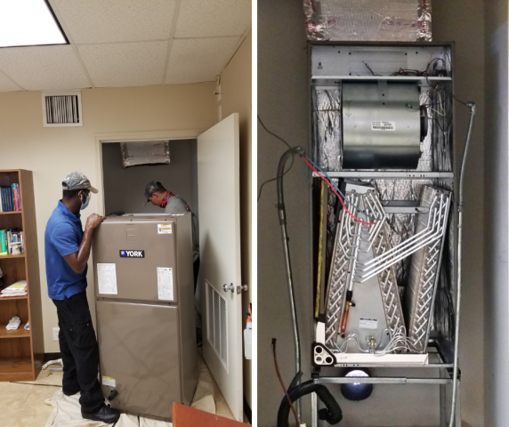 Hollywood, FL - Installation of a brand new YORK system