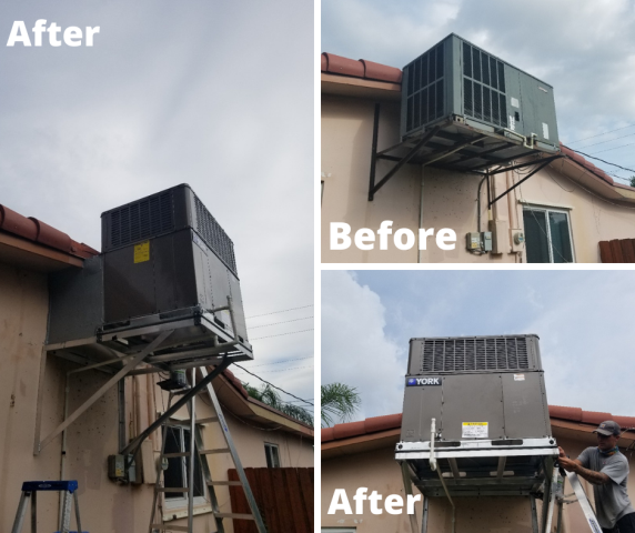 Hollywood, FL - Installed a brand new YORK system for this customer in hollywood!