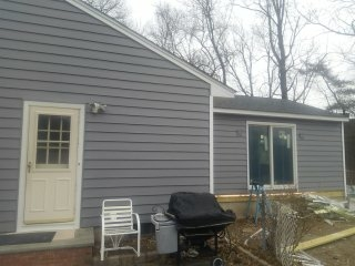Summit, NJ - Installing new CertainTeed siding on existing home