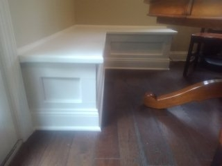 Chatham Township, NJ - Custom-made built-in seating