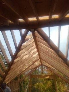 Madison, NJ - Complex roof framing